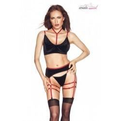 Nuisette et string Smart Lace - Rouge X Large